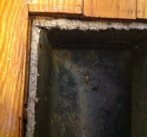 Asbestos on Duct Work